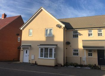 Thumbnail 3 bed semi-detached house for sale in Gilbert Road, Stanton, Bury St. Edmunds