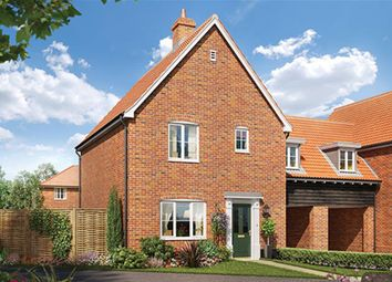 Thumbnail 3 bed link-detached house for sale in Saham Road, Watton, Thetford