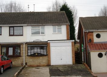 Thumbnail 3 bedroom semi-detached house to rent in Ardav Road, West Bromwich