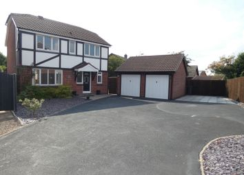 Thumbnail 4 bed detached house for sale in Wakefield Drive, Whitwick