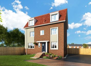 """Thumbnail 4 bed property for sale in """"The Honeysuckle At Meadow View, Shirebrook"""" at Brook Park East Road, Shirebrook, Mansfield"""