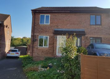 Thumbnail 2 bed semi-detached house for sale in Kirby Close, Axminster, Devon