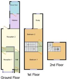 Thumbnail 4 bed shared accommodation to rent in Gleave Road, Birmingham