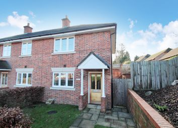 Thumbnail 2 bed end terrace house for sale in Hill Road, Oakley