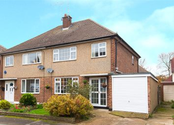 Thumbnail 3 bed semi-detached house for sale in Carswell Close, Hutton, Brentwood, Essex
