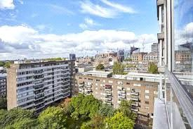 Thumbnail 2 bed flat for sale in Quadrangle Tower, London