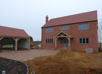 Thumbnail 4 bed detached house for sale in Barroway Drove, Norfolk