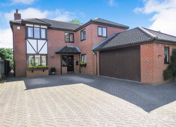Thumbnail 4 bed detached house for sale in Newtown, Hail Weston, St. Neots
