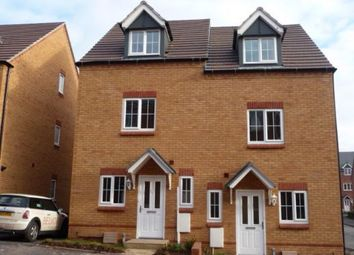 Thumbnail 3 bed town house to rent in Eagleworks Drive, Walsall
