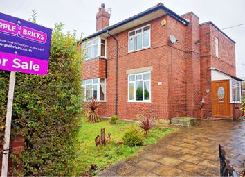 Thumbnail 3 bed semi-detached house for sale in Brookside Road, Manchester