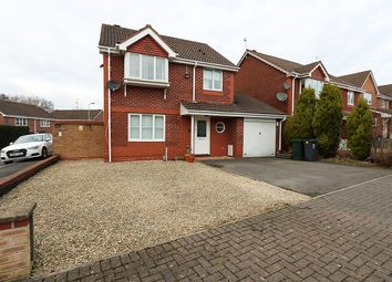 Thumbnail 3 bed detached house to rent in Hollington Drive, Pontprennau, Cardiff