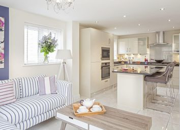 "Thumbnail 5 bed detached house for sale in ""Stratford"" at Tregwilym Road, Rogerstone, Newport"
