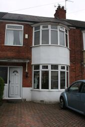 Thumbnail 3 bed terraced house to rent in Westfield Road, Hull