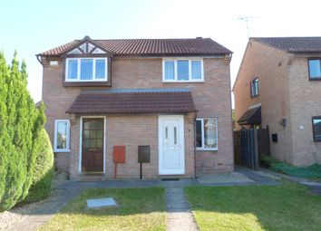 Thumbnail 2 bed semi-detached house to rent in Buscombe Gardens, Hucclecote, Gloucester