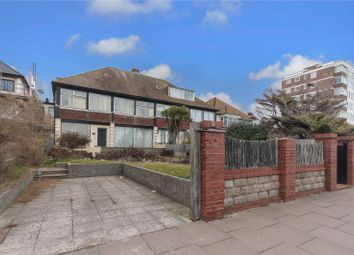 Thumbnail 5 bed semi-detached house for sale in Kingsway, Hove, East Sussex