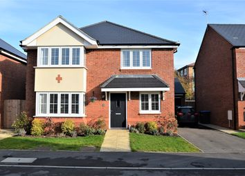 Thumbnail 4 bed detached house for sale in Sharman Way, Little Morton, Rugby