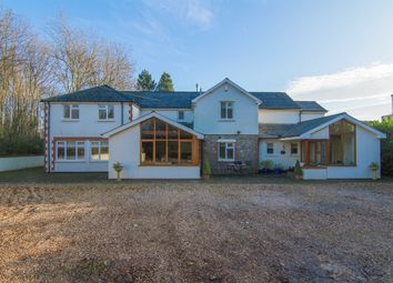 Thumbnail 5 bedroom detached house for sale in Parkwall Road, Lisvane, Cardiff
