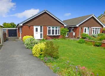 Thumbnail 2 bed detached bungalow for sale in Pickmere Close, Sandbach