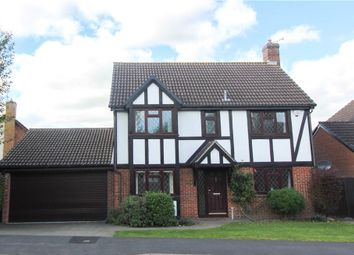 Thumbnail 4 bed detached house for sale in Throgmorton Road, Yateley, Hampshire