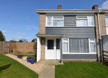 Thumbnail 3 bed semi-detached house for sale in Efford Way, Pennington, Lymington