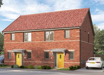 "Thumbnail 3 bed semi-detached house for sale in ""The Haddington Semi"" at Longwall Road, Pontefract"
