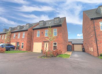 Thumbnail 5 bed detached house for sale in Malcote Mews, Linton, Swadlincote