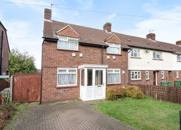 Thumbnail 3 bed semi-detached house for sale in Queensway North, Hersham, Walton-On-Thames