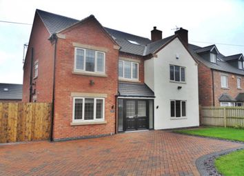 Thumbnail 6 bed detached house to rent in Rykneld Road, Littleover, Derby
