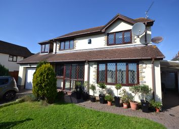 Thumbnail 4 bed detached house for sale in St. James Crescent, Barry