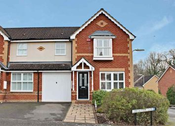 Thumbnail 3 bed semi-detached house for sale in Decouttere Close, Church Crookham, Fleet