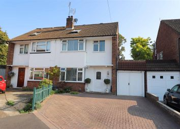 Thumbnail 4 bed semi-detached house for sale in Spencer Close, Uxbridge