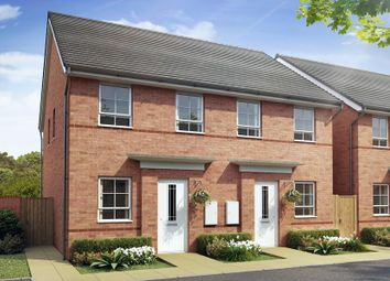 Thumbnail 2 bed semi-detached house for sale in The Richmond, Alexander Gate, Off Waterloo Road, Hanley, Stoke-On-Trent