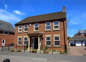 Thumbnail 4 bed detached house for sale in Halton Way, Kingsway, Quedgeley, Gloucester