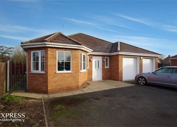 Thumbnail 4 bed detached bungalow for sale in Queens Close, Donington, Spalding, Lincolnshire