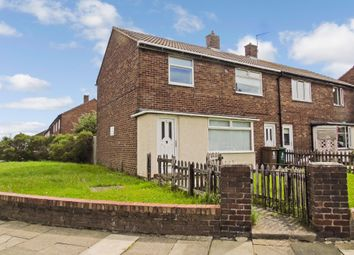 Thumbnail 3 bed semi-detached house for sale in Tiverton Avenue, North Shields