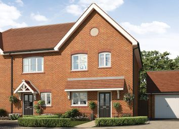 Thumbnail 3 bed semi-detached house for sale in Queen's Avenue, Aldershot, Hampshire