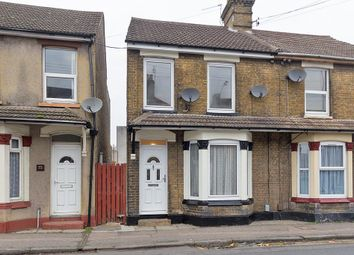 Thumbnail 3 bed terraced house to rent in Chalkwell Road, Sittingbourne