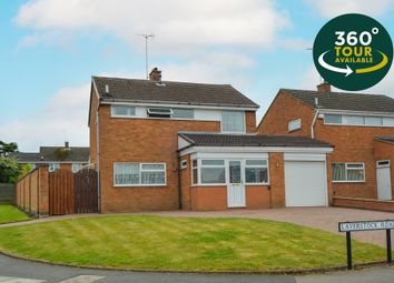 Thumbnail 3 bed detached house for sale in Laverstock Road, Little Hill, Wigston, Leicester