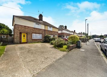 Thumbnail 4 bed semi-detached house for sale in Harewood Gardens, Sanderstead, South Croydon