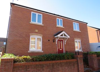 Thumbnail 4 bed detached house for sale in Dace Road, Worcester