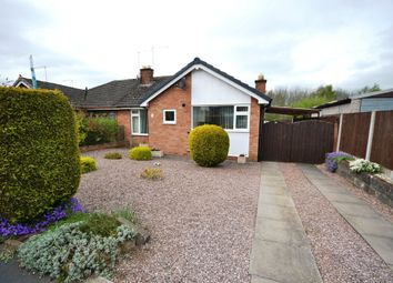 Thumbnail 2 bed semi-detached bungalow for sale in Sherwood Crescent, Market Drayton