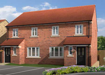 Thumbnail 3 bed semi-detached house for sale in The Balk, Pocklington, York