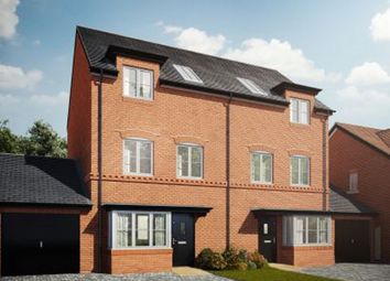 Thumbnail 4 bed town house for sale in Great Ouse Way, Bedford