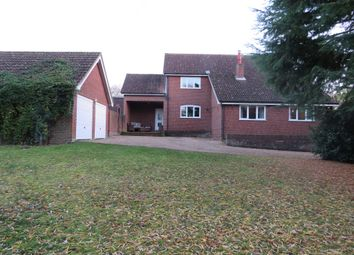 Thumbnail 4 bed detached house for sale in Mill Road, Badingham, Woodbridge