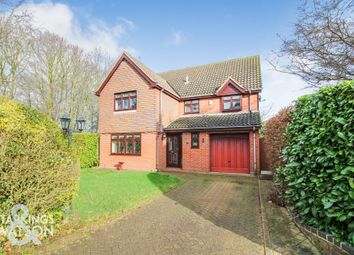 4 bed detached house for sale in Hallgate, Thorpe End, Norwich NR13
