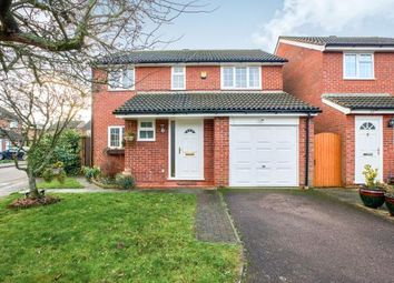 Thumbnail 3 bedroom detached house for sale in Brampton Close, Bedford, Bedfordshire, .
