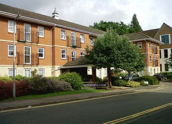 Thumbnail 1 bed flat for sale in Churchfield Court, Reigate