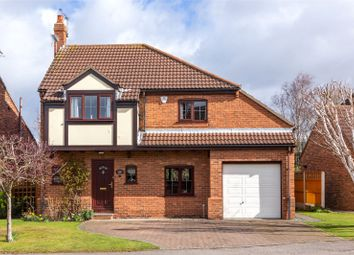 Thumbnail 4 bedroom detached house for sale in King Rudding Close, Riccall, York