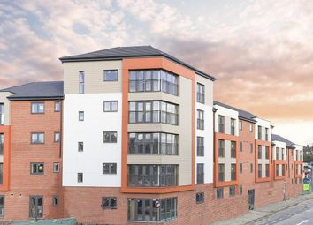 Thumbnail 2 bed flat for sale in Charles Court, Lower Street, Kettering