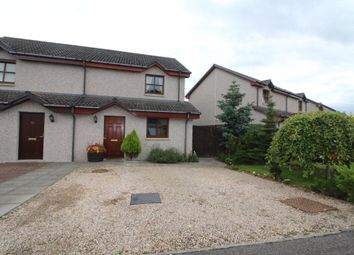 Thumbnail 2 bed semi-detached house for sale in Balnageith Rise, Forres